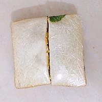 #尽享安心亲子食刻#盐酥鸡滑蛋三明治的做法图解10