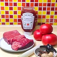 贴秋膘  牛肉爱上西红柿【西红柿炖牛肉】的做法图解1
