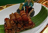 """江南的""""杀猪菜""""—溧阳扎肝的做法"""