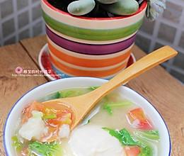 有机杂蔬面疙瘩汤的做法