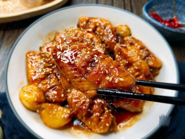 香浓的红烧鸡翅,一盘不够吃‼️的做法