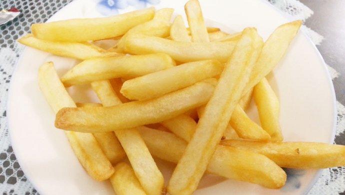 薯条——空气炸锅烹饪