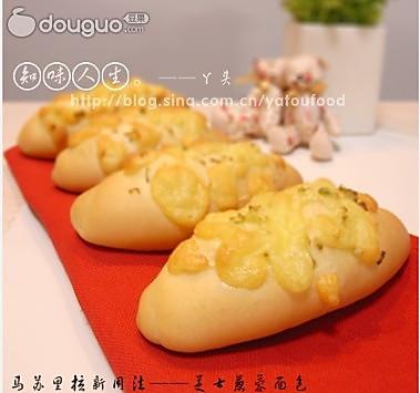 芝士葱蓉面包