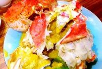 帝王蟹两吃之蒸蟹的做法