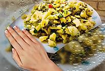 酸菜炒笋的做法
