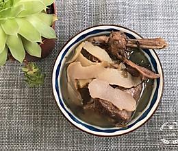 仙鹤草玉竹煲鸭-有祛痰功效的做法
