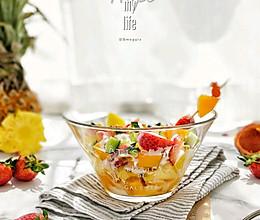 #百变水果花样吃#百香水果沙拉的做法