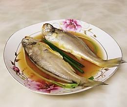 酒蒸黄鱼的做法