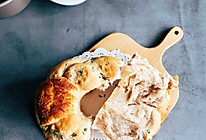 #硬核菜谱制作人#香葱肉松辫子手撕面包的做法