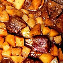 红烧土豆牛肉