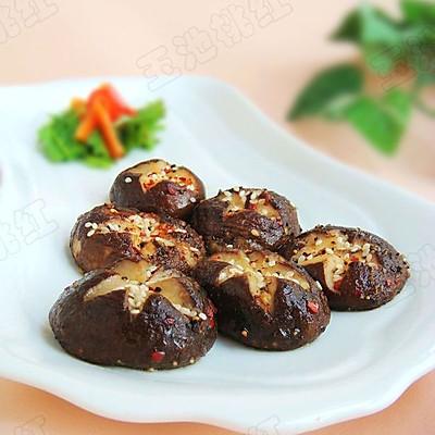 黑胡椒烤香菇