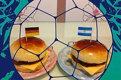 世界杯很牛汉堡