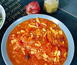 可盐可甜的西红柿炒鸡蛋#人人能开小吃店#的做法