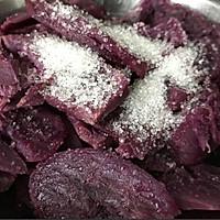 紫薯鸡蛋卷的做法图解3