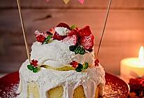 白雪圣诞蛋糕#九阳烘焙剧场#的做法