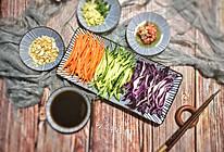 凉拌紫甘蓝 炎炎夏日的一抹爽口小菜的做法