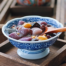 红豆芋圆烧仙草
