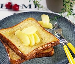 小羽私厨之法式吐司配焦糖苹果的做法