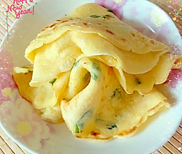 牛奶鸡蛋面粉饼的做法