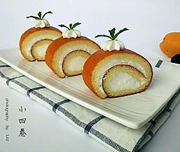 奶油蛋糕卷#豆果5周年#的做法