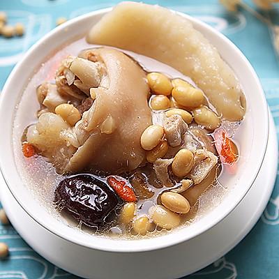 黄豆猪蹄汤--滋补可以如此简单