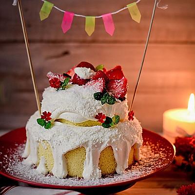 白雪圣诞蛋糕