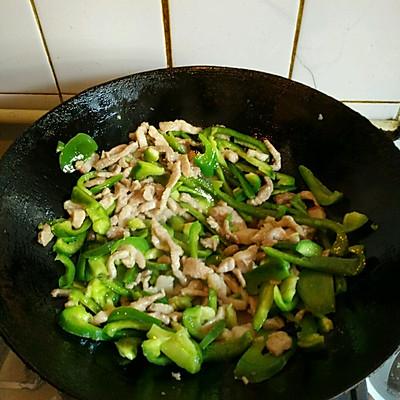 青椒肉丝的做法 步骤9