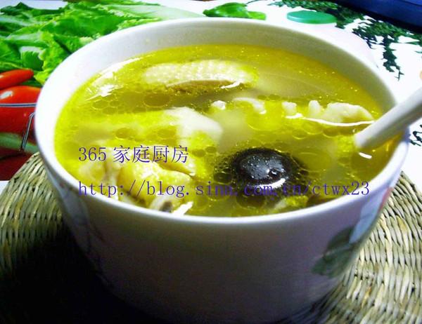 竹笋鸡汤的做法
