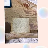 营养美味的芝士肉松三明治(含折纸法)的做法图解12