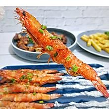 家常烤箱版烤虾串#快手又营养,我家的冬日必备菜品#