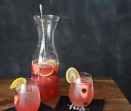 浆果玫瑰桑格利亚汽酒的做法