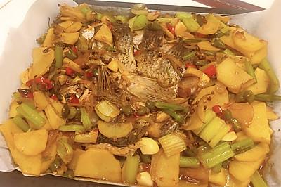 家庭版烤鱼