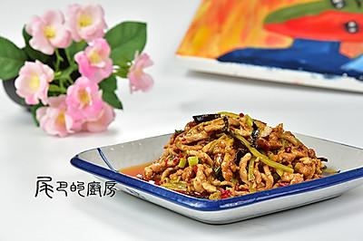 鱼香肉丝#美的微波炉菜谱#