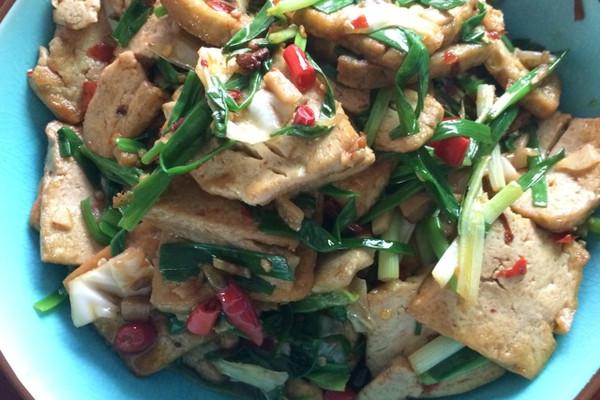 川味香煎豆腐的做法