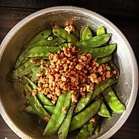 肉末荷兰豆的做法图解6
