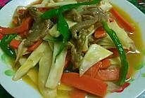 猪肉炒水笋的做法