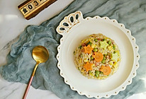 快手早餐-菠萝炒饭的做法