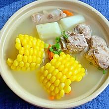 秋天一定要喝滋润去躁营养滋补山药玉米排骨汤