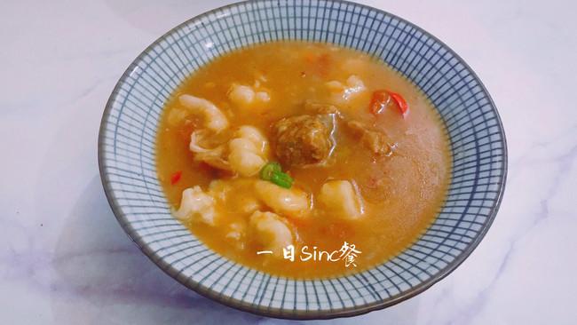 降温的天气就该来一口暖身胡辣汤的做法