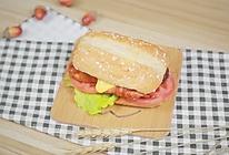 在家也能个性定制的【芝士鸡肉汉堡】的做法