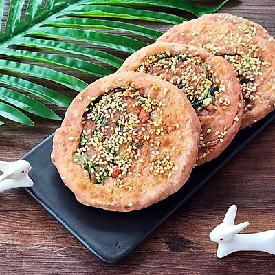 南乳火腿葱花饼