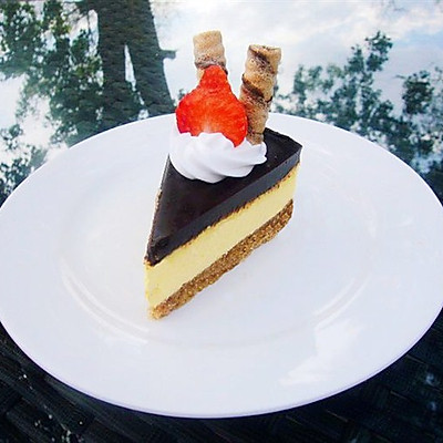巧克力乳酪蛋糕(君之大神的配方)