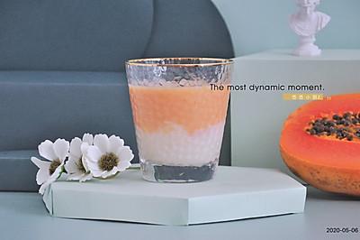 不加一滴水的果汁,木瓜牛奶果汁