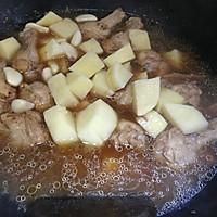 土豆烧鸡翅根的做法图解9