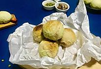 可可抹茶绿豆酥#花10分钟,做一道菜!#的做法