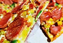 田园火腿披萨的做法