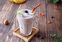 香蕉蓝莓酸奶的做法