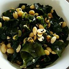 螺旋藻拌黄豆