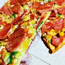 田园火腿披萨
