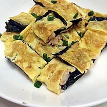 #维尼的私房小厨#鲜虾鸡蛋卷